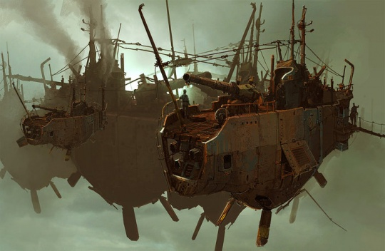 cruzine 1c1 Awesome Pseudo 3d Illustrations by Ian McQue