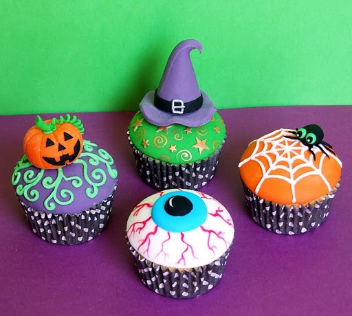 cup cakes 21 Cant wait Halloween?