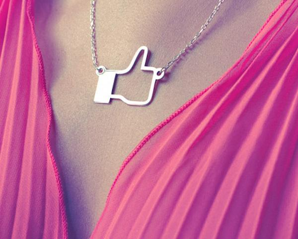 Facebook Like Pendant