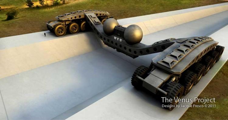 giant futuristic design transportation machine 750x394 Epic Futuristic Design