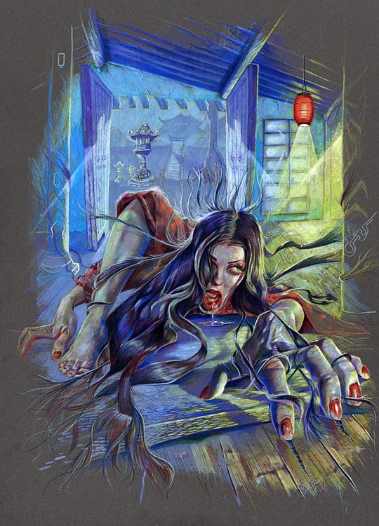 horror 2 Horror Illustrations