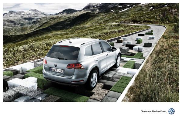 i1a162 Volkswagen Print Ads