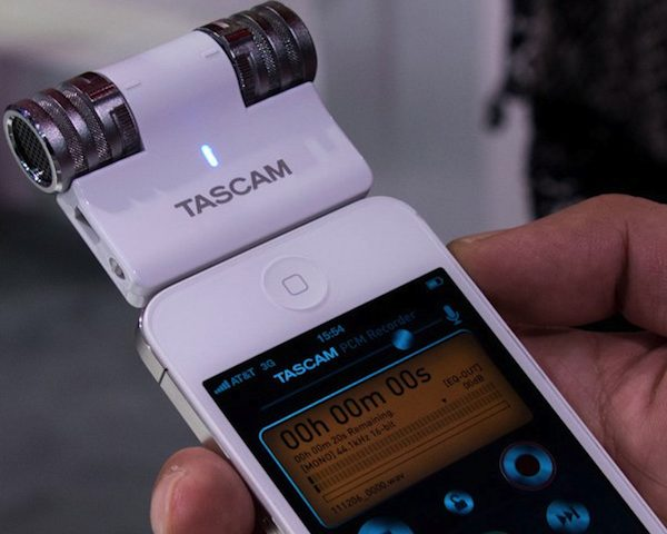 iM2 Stereo Microphone By Tascam