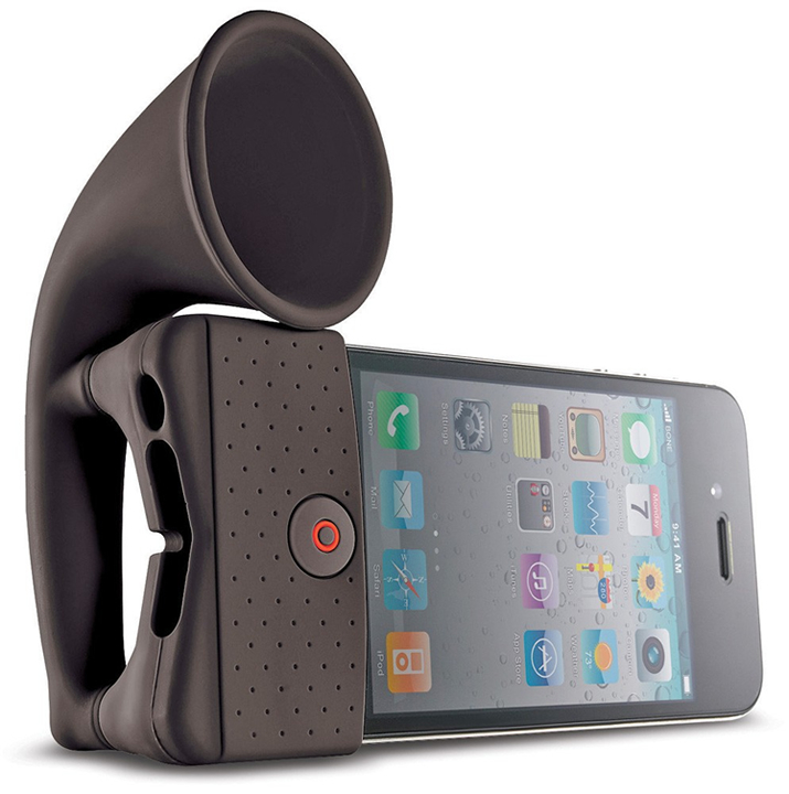 iphone horn stand iPhone Horn Stand