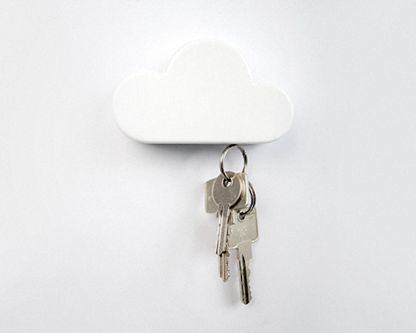 keyholder1 Magnetic Cloud Key Holder