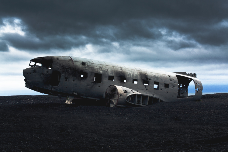 planeone Abandoned U.S. Navy Plane by Peter Holliday
