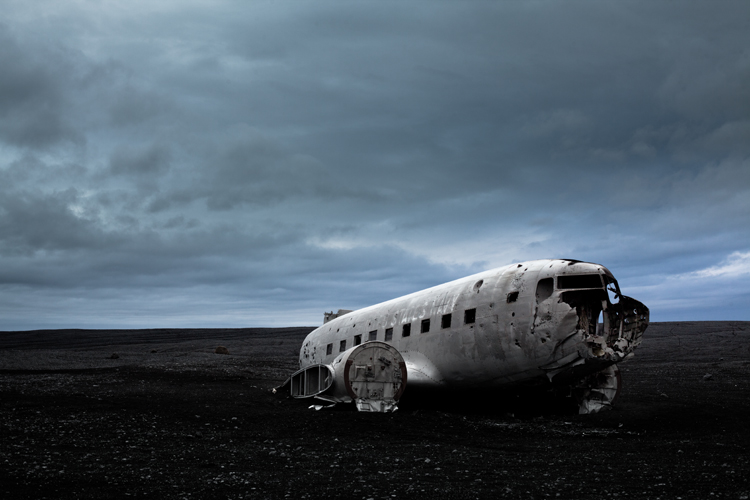 planetwo Abandoned U.S. Navy Plane by Peter Holliday