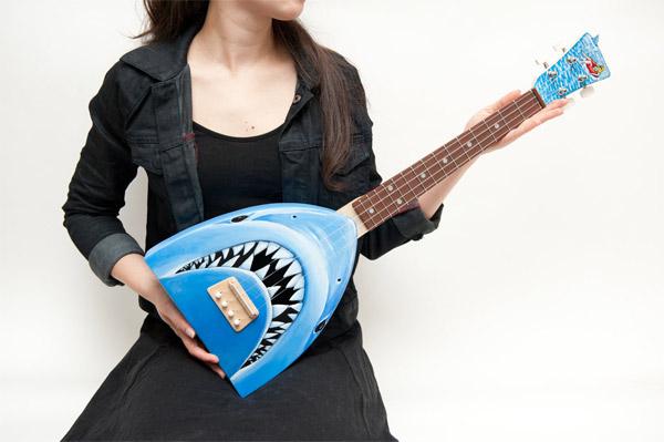 shark ukulele0 Shark Ukulele