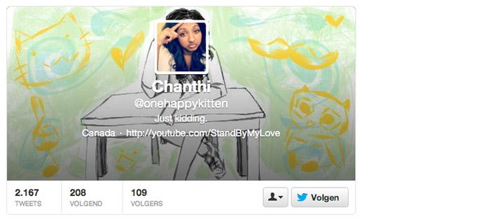 Diseño Página de Twitter