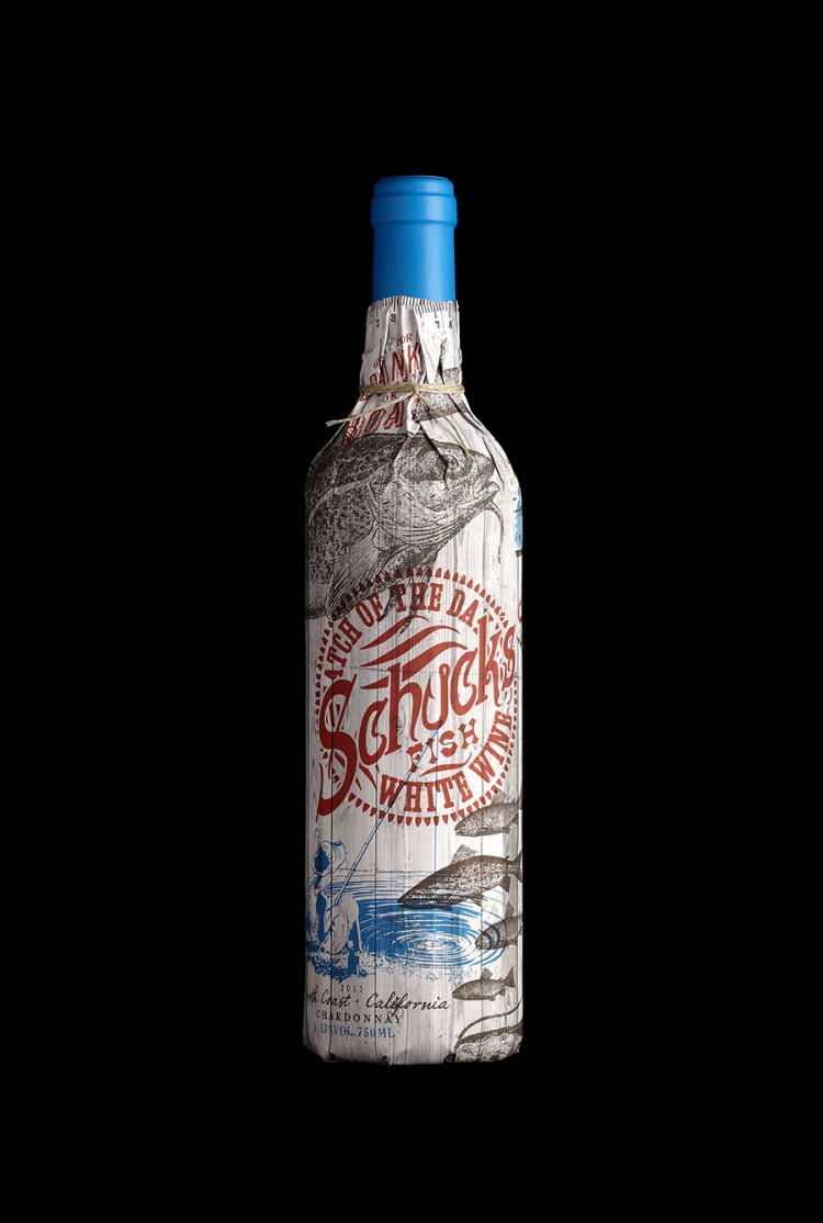 wine1 750x1114 Gorgeous Patented Bottle Wine Sleeves by Stranger & Stranger