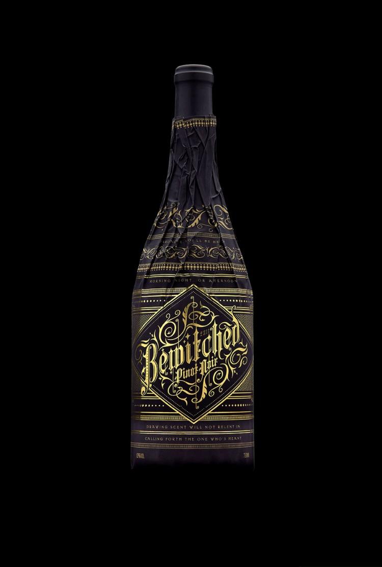wine3 750x1114 Gorgeous Patented Bottle Wine Sleeves by Stranger & Stranger