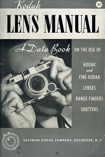 01 Cover Kodak Lens Manual 1942 Kodak Lens Manual 1941