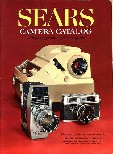 01 Sears Camera Catalog 1961 cover 1961 Sears Camera Catalog