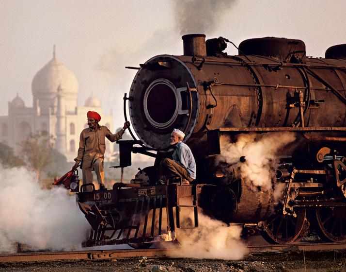 0118 Trains by Steve McCurry