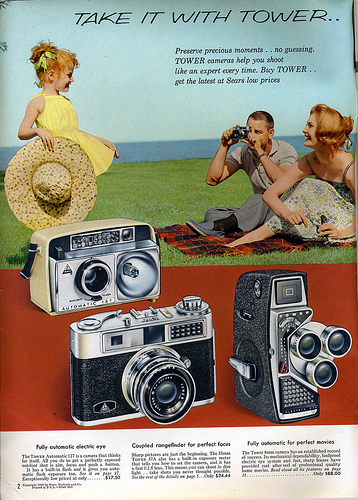 02 1961 Sears Take it with Tower 1961 Sears Camera Catalog