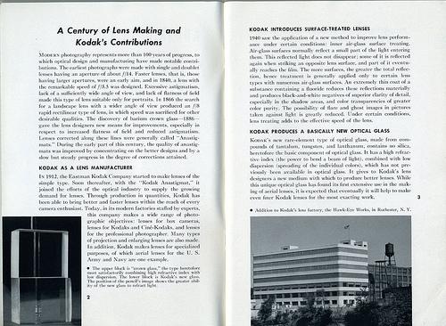 02 A Century of Lens Making and Kodaks Contributions Kodak Lens Manual 1941
