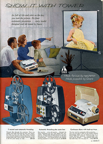 03 1961 Sears Show it with Tower 1961 Sears Camera Catalog