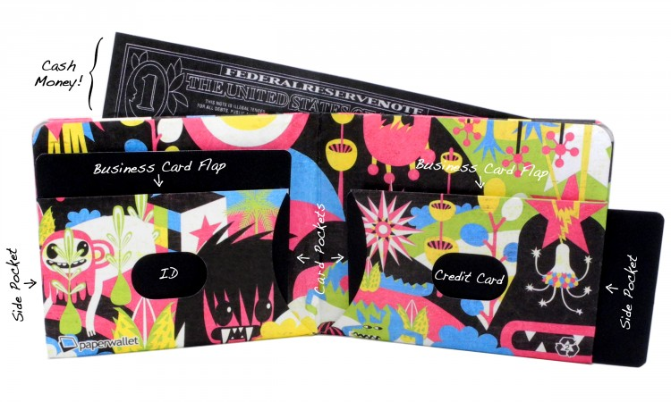 04 Full 750x450 Paperwallet Features Original Art on a New Kind of Canvas....