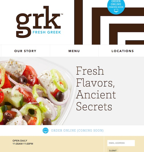 06 grk Creative Examples of Clean and Minimal Web Designs