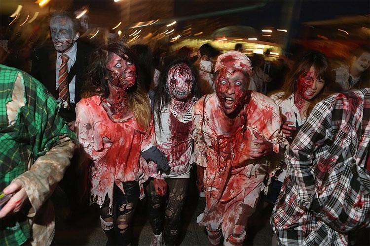 1208 Zombie Walk Berlin