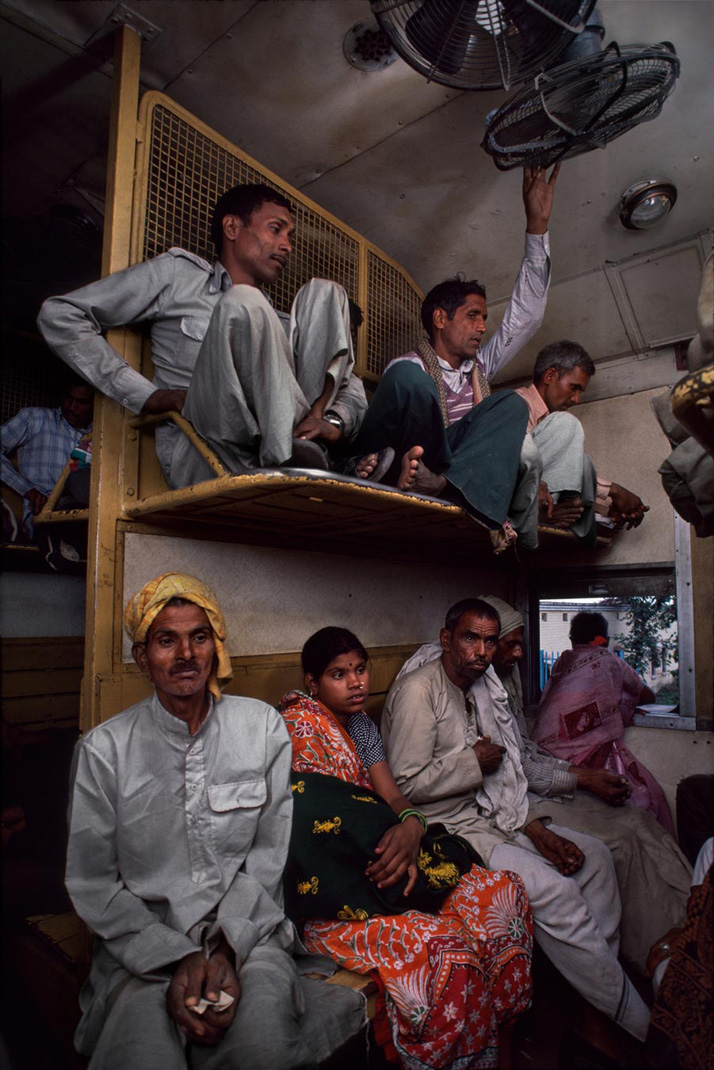 1713 Trains by Steve McCurry