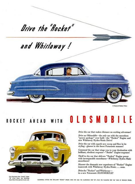1950 Oldsmobile Rocket 88 Adverts 2 1950 Oldsmobile Rocket 88 Adverts