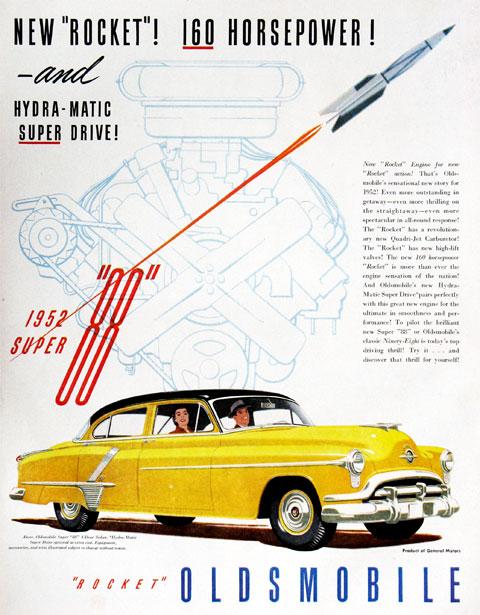 1950 Oldsmobile Rocket 88 Adverts 3 1950 Oldsmobile Rocket 88 Adverts