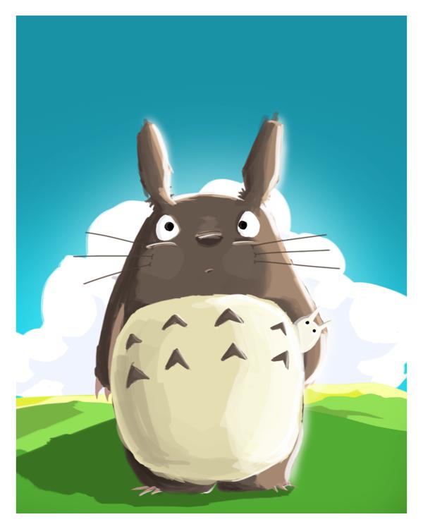 3d770138b38b28da9be4086f3c567f77 Totoro