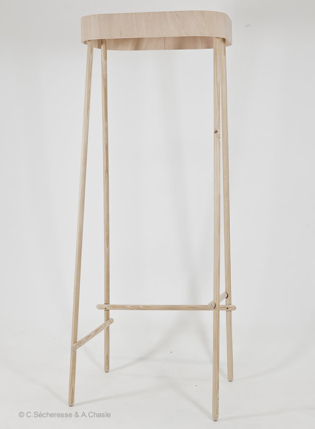 3o7 Hallstand by Sécheresse & Chasle