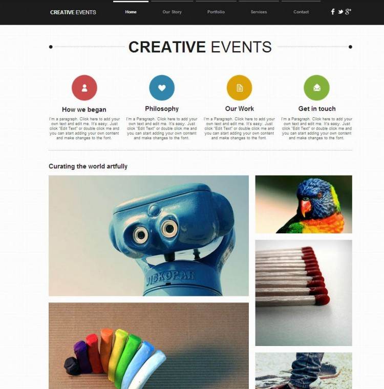 best free website templates from wix things