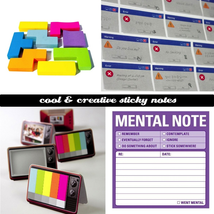 Cool and Creative Sticky Notes DYT Cool and Creative Sticky Notes
