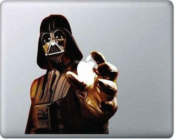 Darth Vader Macbook Decal  Darth Vader Macbook Decal