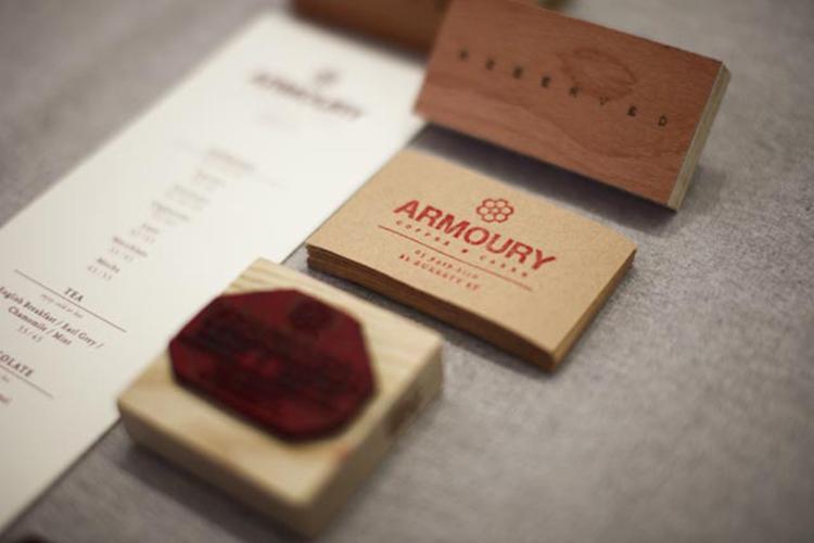 IMG 12871 Armoury Cafe Branding