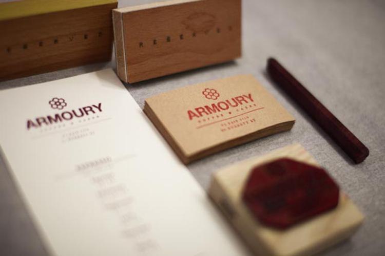 IMG 12902 Armoury Cafe Branding