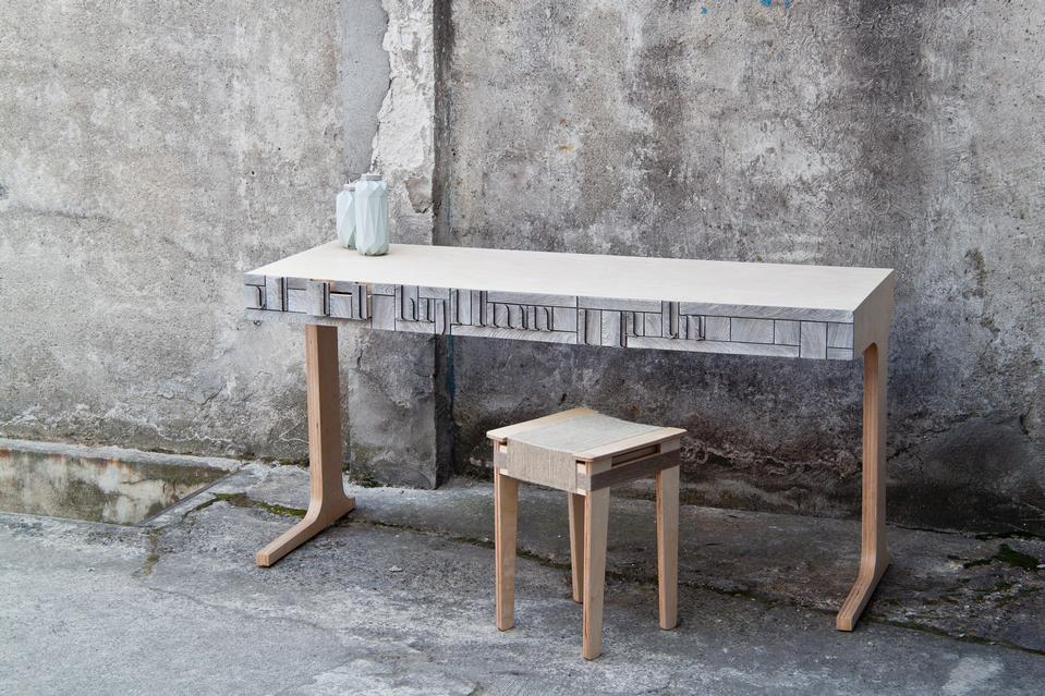 NewspaperWood From ATo Z PAPER BECOMES FURNITURE