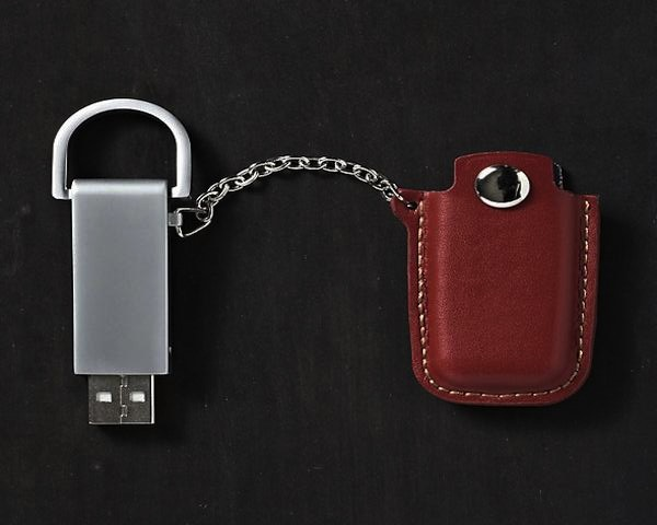 Pocket Leather Flash Drive 1 Leather Flash Drive