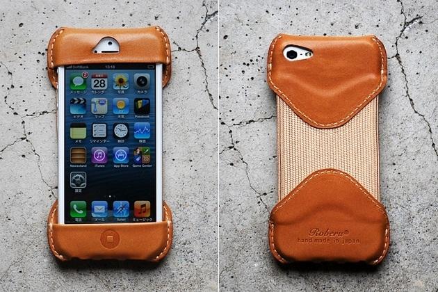 Roberu iPhone 5 Case BonjourLife 1 Roberu iPhone 5 Leather Case