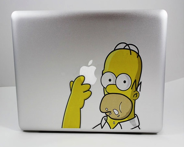 Simpson Decal For MacBook3 Simpson Decal For MacBook