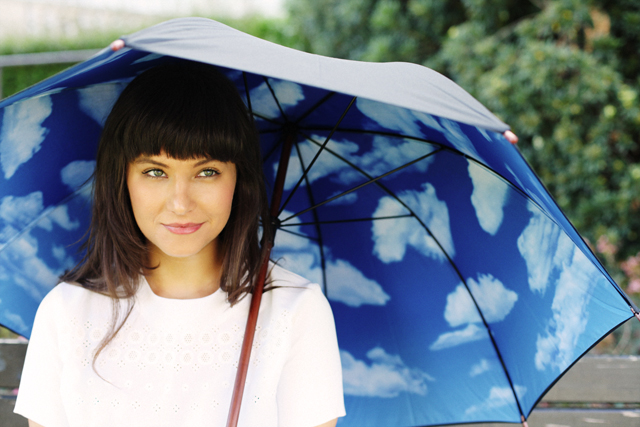 Sky Umbrella. Sunny is a state of mind