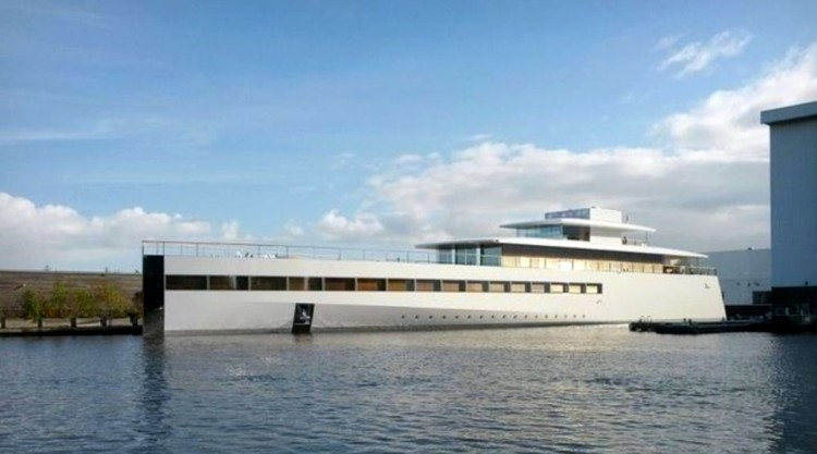 """Steve Jobs yacht venus 750x417 Steve Jobs Yacht """"Venus"""" Launched in the Netherlands"""