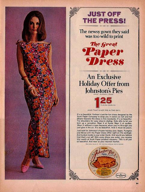 The 60s Paper Dresses 2 The 60s Paper Dresses