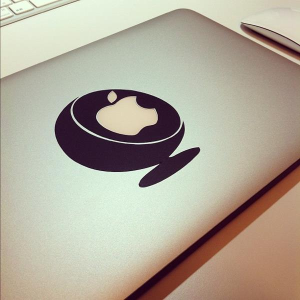 The Ball Chair by Frenchstickers for macs