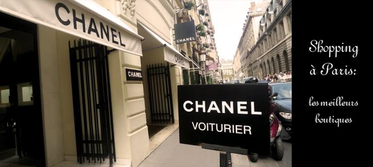 a  Shopping à Paris: les meilleurs boutiques