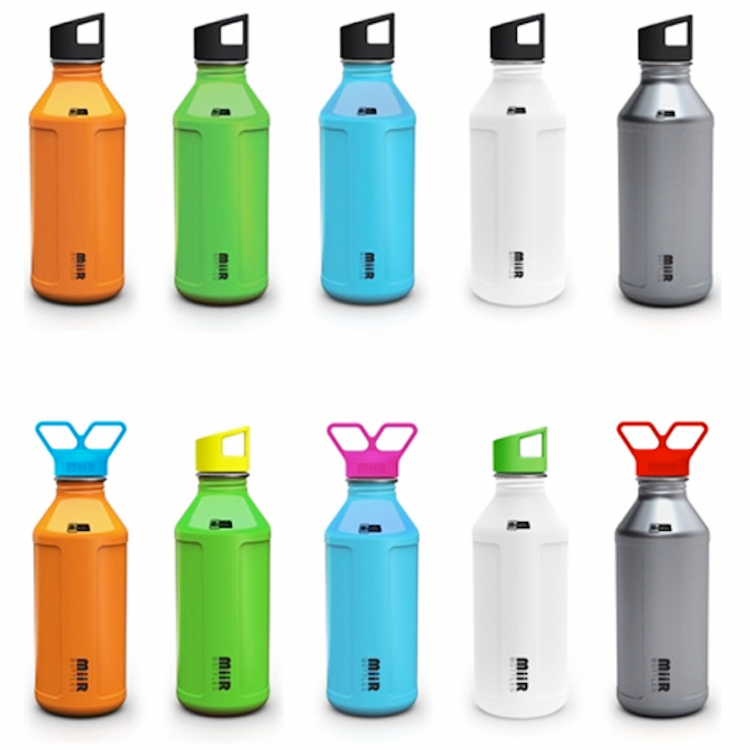 allbottles 750x750 MiiR Water Bottle Makes Drinking Water Safer...Across the World.