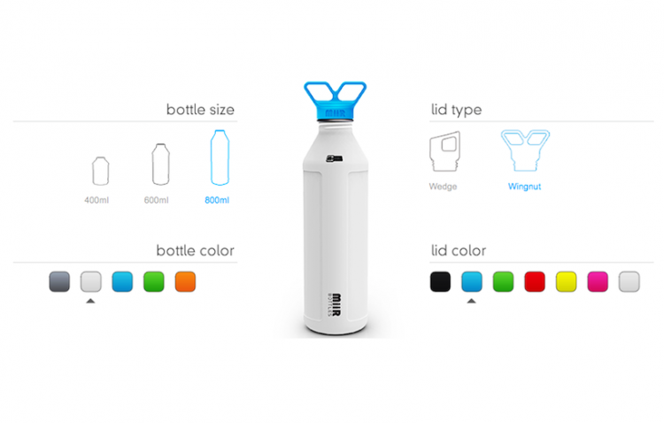 bwbottle 750x478 MiiR Water Bottle Makes Drinking Water Safer...Across the World.