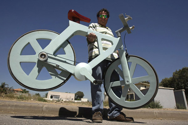 A Bicycle Made of Cardboard? Yup, and It's Only $20