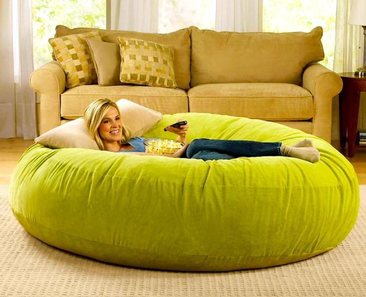chair 750x609 Giant Bean Bag Chair