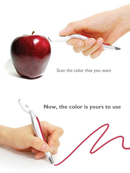 color picker color sensor pen 1 Scan and Draw Color Sensing Pen