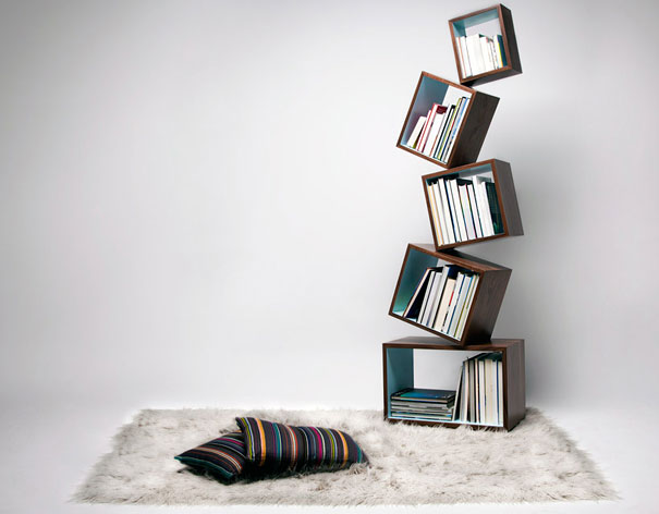 creative bookshelves 1 1 Creative Bookshelf Designs