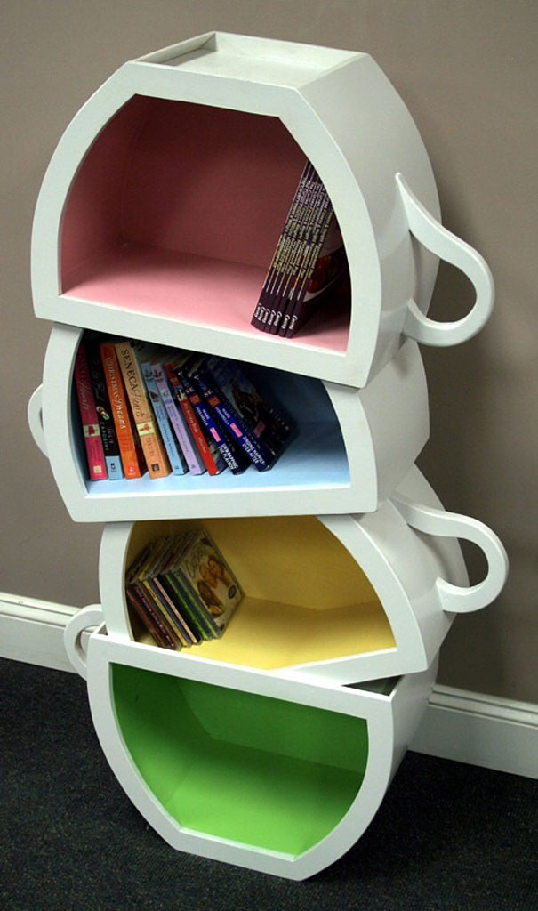 creative bookshelves 16 1 Creative Bookshelf Designs